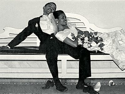 Obama Wedding Photo